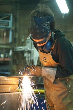 lady.welding welding